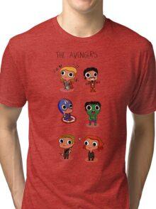 THE AVENGERS (◠‿◠) Tri-blend T-Shirt