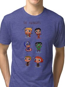 THE AVENGERS (◠‿◠) Tri-blend T-Shirt