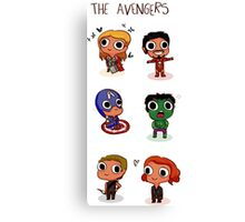 THE AVENGERS (◠‿◠) Canvas Print