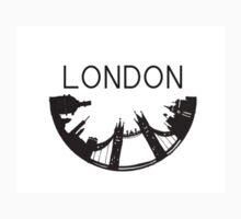 Half-Circle London Kids Tee