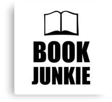 Book Junkie Canvas Print