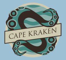Game Of Thrones - 'Cape Kraken' vintage badge by housegrafton