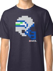 Tecmo Bowl - Seattle - 8-bit - Mini Helmet shirt Classic T-Shirt