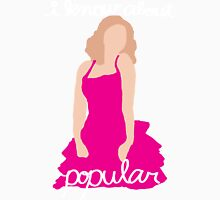 """""""I Know About Popular"""" Galinda, Wicked Mens V-Neck T-Shirt"""