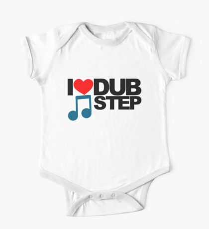I LOVE DUBSTEP (LIGHT)  One Piece - Short Sleeve