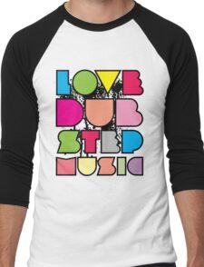 Love Dubstep Music Men's Baseball ¾ T-Shirt
