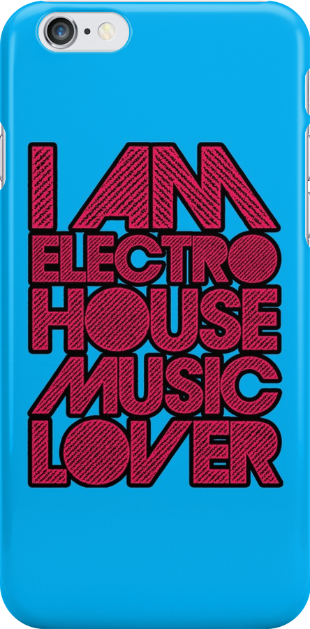 I AM ELECTRO HOUSE MUSIC LOVER (MAGENTA) by DropBass