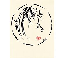"""Beauty"" sumie ink brush pen painting Photographic Print"