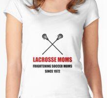 Lacrosse Frightening Soccer Moms Women's Fitted Scoop T-Shirt