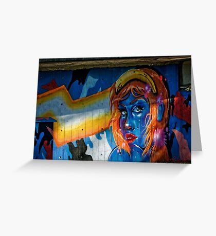 Graffiti / Street Art in Canberra/ACT/Australia (1) Greeting Card