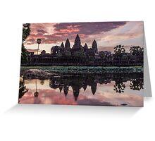 Angkor Wat - Siem Reap, Cambodia Greeting Card