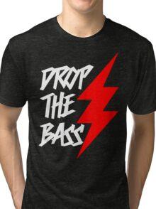 Drop The Bass (dark) Tri-blend T-Shirt