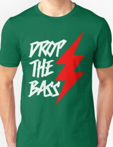 Drop The Bass (dark) Unisex T-Shirt