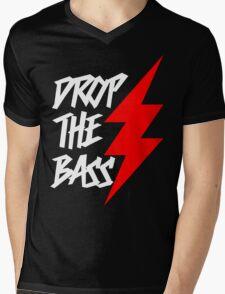 Drop The Bass (dark) Mens V-Neck T-Shirt