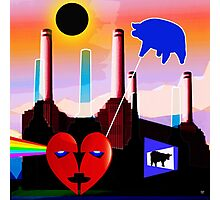 PINK FLOYD ECLIPSED BATTERSEA Photographic Print
