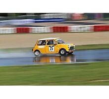 Mini Racing Photographic Print
