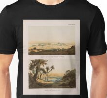 0152 Ansicht von Semneh Semna und Kummeh Kumma von Westen Ansicht von Semneh Semna von Osten Unisex T-Shirt