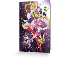 Sailor Scouts Ver.2 Greeting Card