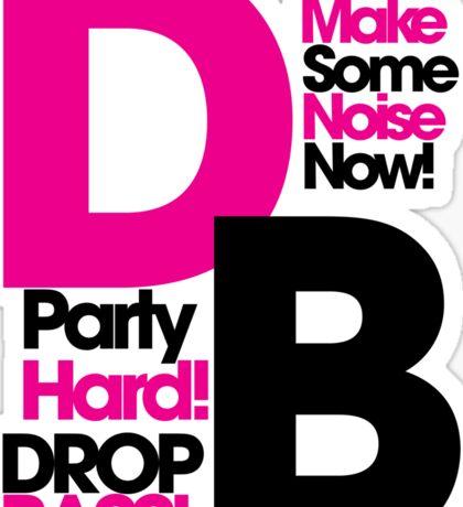 DB drop bass Sticker