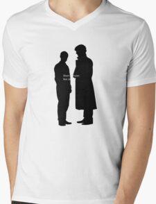Short Version: Not Dead. Mens V-Neck T-Shirt