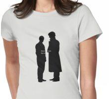 Short Version: Not Dead. Womens Fitted T-Shirt