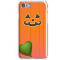 Happy Pumpkin iPhone Case/Skin