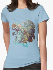 Willow World. Womens Fitted T-Shirt