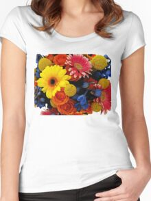 Bouquet Women's Fitted Scoop T-Shirt