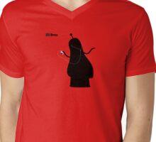 Adventure Time Bmo's Campaign (Apple iPod Parody). Bubblegum Princess Version. Mens V-Neck T-Shirt