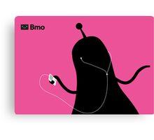 Adventure Time Bmo's Campaign (Apple iPod Parody). Bubblegum Princess Version. Canvas Print