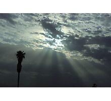 Jaffa's sky Photographic Print