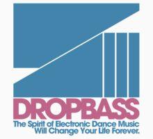 DropBass Logo (Blue/Pink) by DropBass