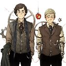 BBC Sherlock: Steampunk Detectives by sweetlitlekitty