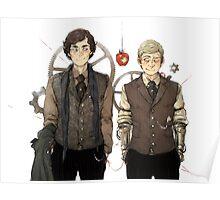 BBC Sherlock: Steampunk Detectives Poster