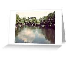 Blessed Water Greeting Card