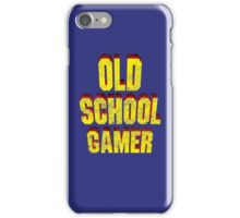Old School Gamer iPhone Case/Skin