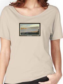 *THE TAMAR RIVER - LAUNCESTON - TASMANIA* Women's Relaxed Fit T-Shirt