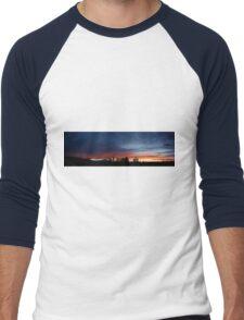 I'll watch you till you settle. Men's Baseball ¾ T-Shirt