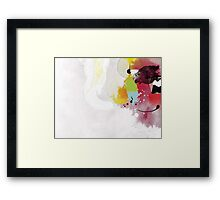 Untitled 1 Abstract Contemporary Framed Print