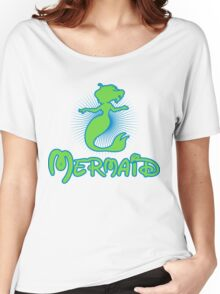 Mermaid - color Women's Relaxed Fit T-Shirt