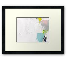 Untitled 3 Abstract Contemporary Framed Print