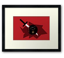 Pained Framed Print