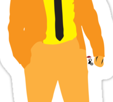 Tiger Suit Sticker