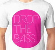 Drop The Bass (geometric) Unisex T-Shirt
