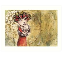 Mothers Crown Art Print
