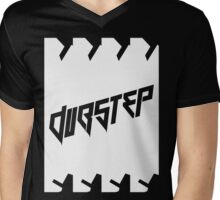 DUBSTEP (VICTORY) WHITE Mens V-Neck T-Shirt