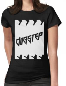 DUBSTEP (VICTORY) WHITE Womens Fitted T-Shirt