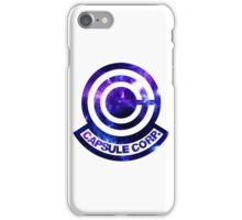 Dragon ball z capsule corp iPhone Case/Skin