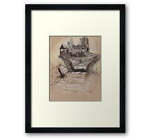 The Splinter Rock Factory Framed Print