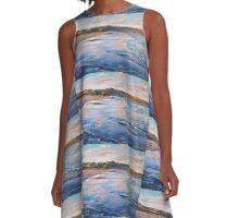 Evening at Marengo Beach A-Line Dress